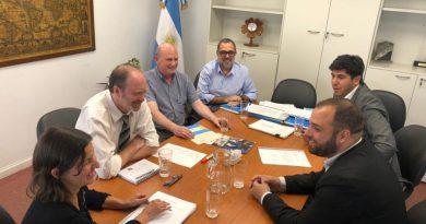 Santa Cruz planteó ante el INET acciones para fortalecer la Educación Técnica