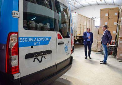 El Gobierno realiza importante inversión en equipamiento para el Ciclo Lectivo 2020