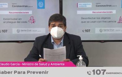 """García: """"Se está enviando la segunda dosis de la vacuna Sputnik V a las localidades de Zona Norte"""""""