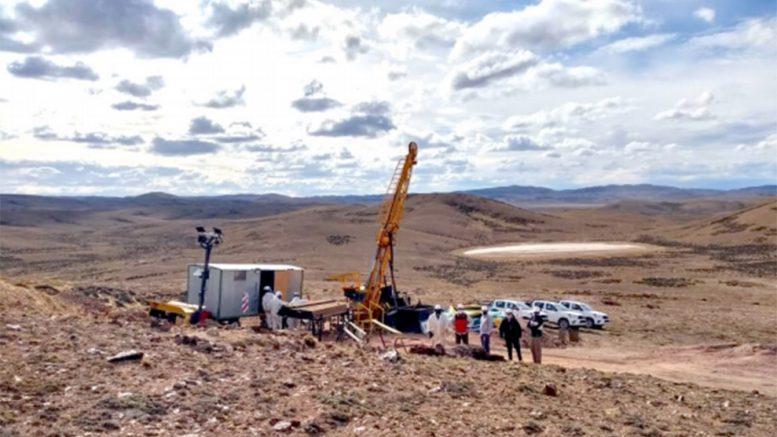 Santa Cruz: comenzó perforación inaugural del proyecto de oro Cachi