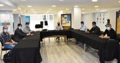 Concretaron reunión con autoridades de Perito Moreno y Puerto Deseado