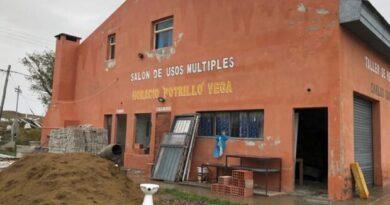 Empresas pesqueras de Deseado aportan 2 millones de pesos para reparar edificio donde funcionará centro Covid