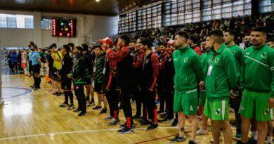 Liga Nacional de Futsal: Grasso participó de la apertura de la fase regional que se juega en Rio Gallegos